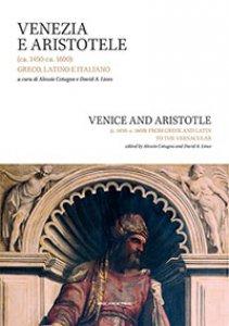 Copertina di 'Venezia e Aristotele'
