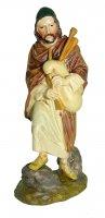 Statuine presepe: Pastore con zampogna linea Martino Landi per presepe da cm 10