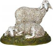 Gruppo di pecore per presepe - cm 16