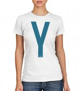 T-shirt Yeshua blu - taglia S - donna