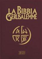 La Bibbia di Gerusalemme (copertina in pelle color testa di moro - tascabile)