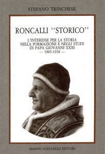 """Copertina di 'Roncalli """"storico""""'"""