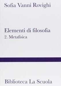 Copertina di 'Elementi di filosofia'