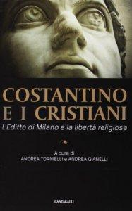 Copertina di 'Costantino e i cristiani'