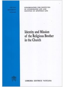 Copertina di 'Identity and Mission of the Religious Brother in the Church'