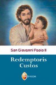 Copertina di 'Redemptoris Custos'