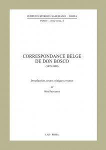 Copertina di 'Correspondance Belge de Don Bosco (1879-1888)'