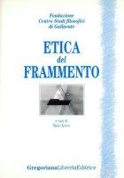 Etica del frammento