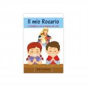 Immagine di 'Rosario colorato in legno con libretto per bambini'