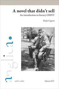 Copertina di 'A novel that didn't sell. An introduction to literary OSINT'