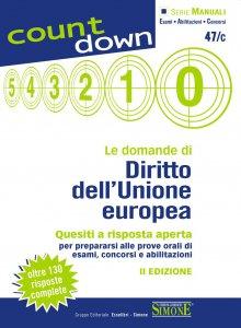 Copertina di 'Le domande di Diritto dell'Unione europea'