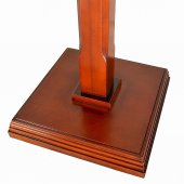 Immagine di 'Leggio a colonna con stelo in legno di sezione quadrata - altezza 117 cm'