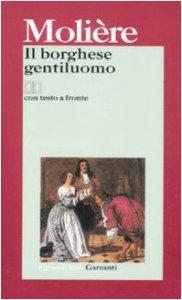 Copertina di 'Il borghese gentiluomo. Testo francese a fronte'