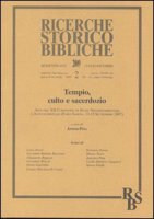 Tempio, culto e sacerdozio - Pitta Antonio