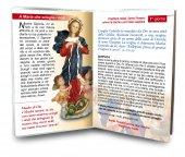 """Immagine di 'Libretto """"Novena a Maria che scioglie i nodi"""" con rosario - italiano'"""