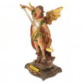 """Immagine di 'Statua in resina colorata """"San Michele arcangelo"""" - altezza 20 cm'"""