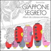 Giappone segreto. Album da colorare anti-stress - Las Cases Zoé de