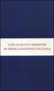 Copertina di 'Sermoni sulla Chiesa. Conferenze sulla dottrina della giustificazione. Sermoni penitenziali'