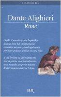 Rime - Alighieri Dante