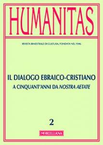 Copertina di 'Humanitas. 2/2015: Il dialogo ebraico-cristiano'