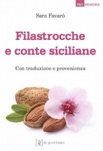 Copertina di 'Filastrocche e conte siciliane. Con traduzione e provenienza'