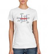 T-shirt 10 comandamenti - Taglia XL - DONNA