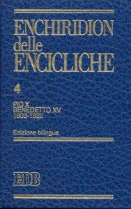 Copertina di 'Enchiridion delle Encicliche. 4'