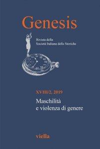 Copertina di 'Genesis. Rivista della Società italiana delle storiche (2019) Vol. 18/2'