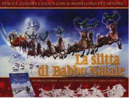 Copertina di 'La slitta di Babbo Natale'