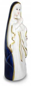 Copertina di 'Madonnina di Lourdes in ceramica colorata - cm 17'