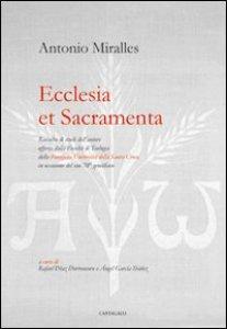 Copertina di 'Ecclesia et sacramenta'