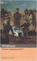 Giorni rappresentativi - Whitman Walt