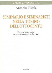 Copertina di 'Seminario e seminaristi nella Torino dell'Ottocento'