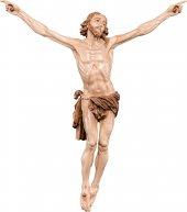 Cristo della Passione - Demetz - Deur - Statua in legno dipinta a mano. Altezza pari a 21 cm.