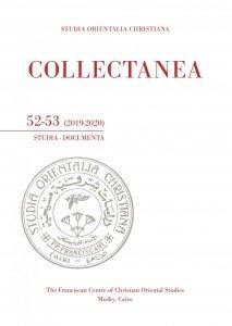 Copertina di 'Collectanea 52-53 (2019-2020)'