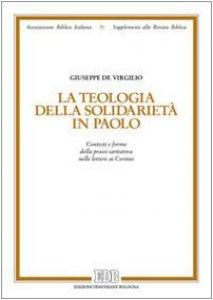 Copertina di 'La teologia della solidarietà in Paolo'