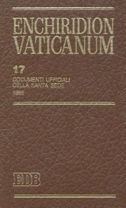 Copertina di 'Enchiridion Vaticanum. 17'