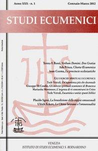 Studi Ecumenici -  2012 n.01