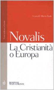 Copertina di 'La Cristianità o Europa. Testo tedesco a fronte'