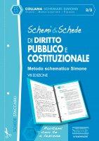 Schemi & Schede di Diritto Pubblico e Costituzionale - Redazioni Edizioni Simone