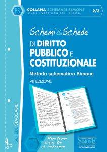 Copertina di 'Schemi & Schede di Diritto Pubblico e Costituzionale'
