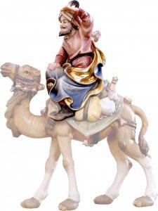 Copertina di 'Cammelliere seduto D.K. - Demetz - Deur - Statua in legno dipinta a mano. Altezza pari a 10 cm.'