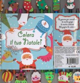 Copertina di 'Colora il tuo Natale!'