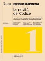 CRISI D'IMPRESA 1 - Le novità del codice - Nicola Soldati