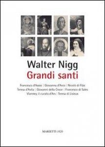 Copertina di 'Grandi santi'