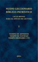 Nuevo leccionario biblico-patristico. Ciclo bienal. Vol. I: Tiempo de Adviento - Tiempo de Navidad - Tiempo Ordinario I-VII