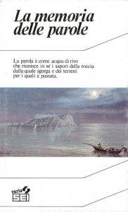 Copertina di 'La memoria delle parole'