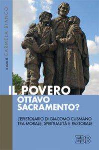 Copertina di 'Il povero, ottavo sacramento?'