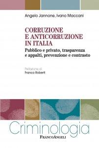 Copertina di 'Corruzione e anticorruzione in Italia'