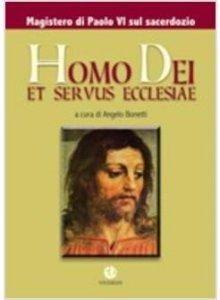 Copertina di 'Homo Dei et servus Ecclesiae'